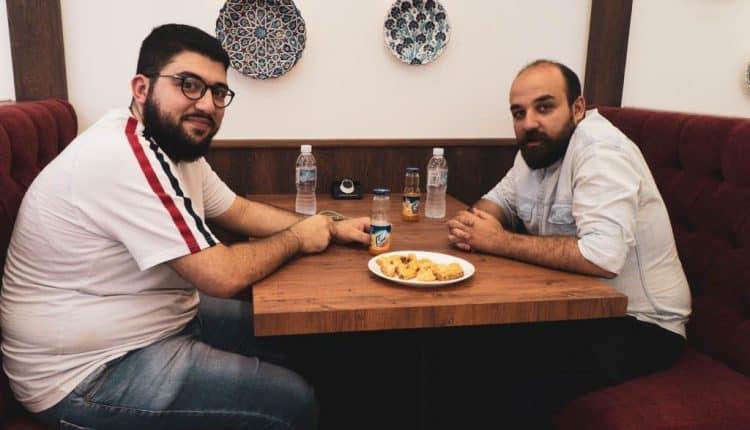 أكلة خفيفة في مطعم دمشق Damascus